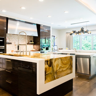 Bold & Beckoning Modern Kitchen Addition and Renovation