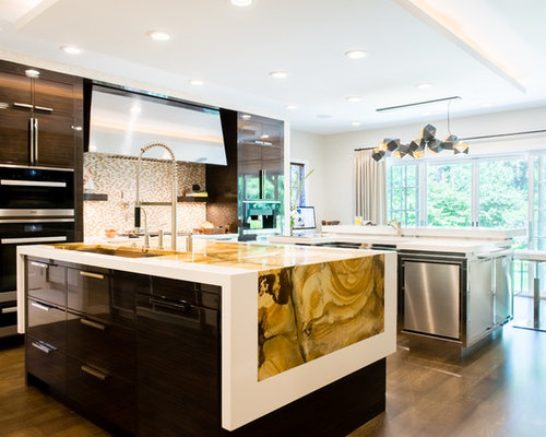 510 Cleveland Kitchen Design Photos With Flat Panel Cabinets