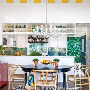 Bold, Colorful Kitchen
