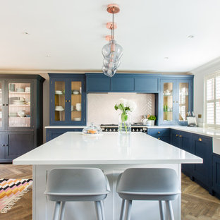 Bold Kitchen in Essex