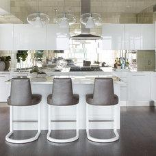 Transitional Kitchen by Lori Dennis, ASID, LEED AP