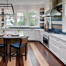 Traditional Kitchen by BonTon tile