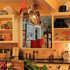 Eclectic Kitchen by Cozy Little House