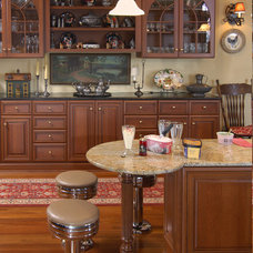 Traditional Kitchen by Precision Cabinets Inc