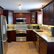 Traditional Kitchen by Design Kitchens & Countertops
