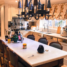 Eclectic Kitchen by Monica Kovacic