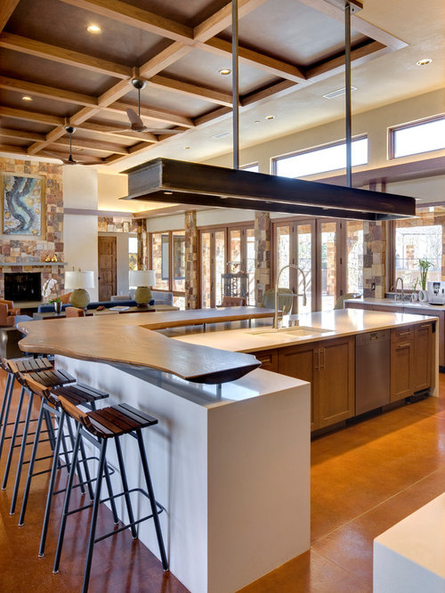 interior design for open kitchen. Huge contemporary open concept kitchen appliance  u shaped idea Open Concept Kitchen Living Room Houzz