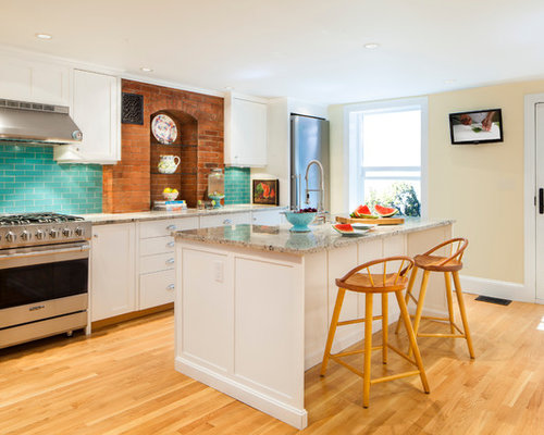 Turquoise kitchen backsplash ideas, pictures, remodel and decor