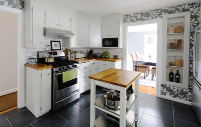 Kitchen of the Week: A Budget Makeover in Massachusetts