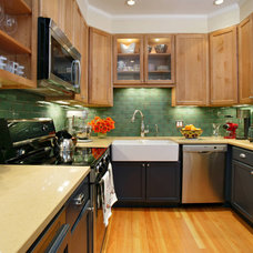 Contemporary Kitchen by Kati Curtis Design