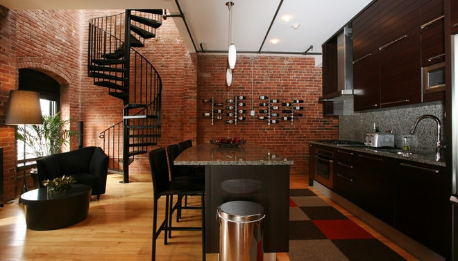 Contemporary Kitchen by Nicole Hogarty