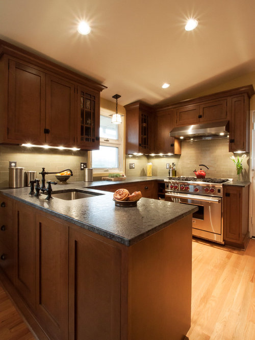 Kitchen Gray Granite Countertops : Steel grey granite houzz