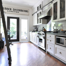 Transitional Kitchen by Meredith Heron Design