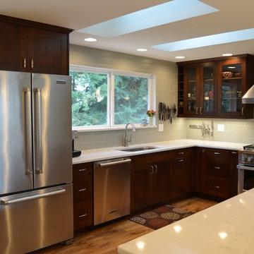Bothell Split Level Home Kitchen Remodel