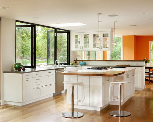 multiple kitchen windows photos - Window Design Ideas