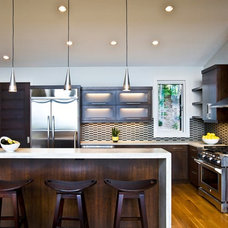 Contemporary Kitchen by Allard & Roberts Interior Design, Inc