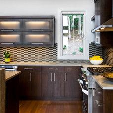 Contemporary Kitchen by Allard & Roberts Interior Design, Inc