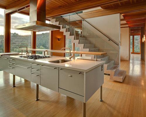 floating kitchen island houzz