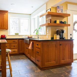 Boxborough Craftsman Kitchen