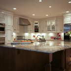 Douglaston traditional kitchen new york by solara designs inc Kitchen design newtown ct
