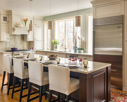our 50 best kitchen with glass tile backsplash ideas & remodeling