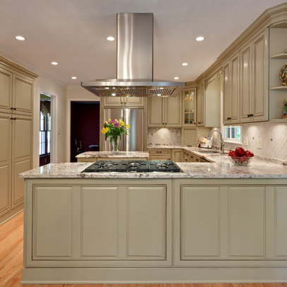 Peninsula cooktop home design ideas pictures remodel and - Kitchen peninsula with stove ...