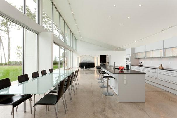 Contemporary Kitchen by Genesis Architecture, LLC.