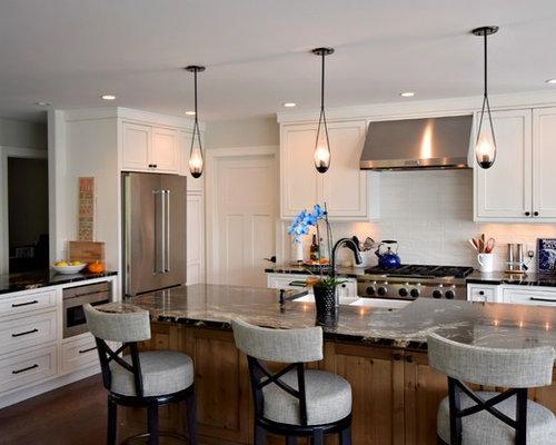 Bradbury lane transitional kitchen for Kitchen cabinets 08080