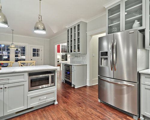 Benjamin Moore Coventry Gray Kitchen Design Ideas, Remodels & Photos