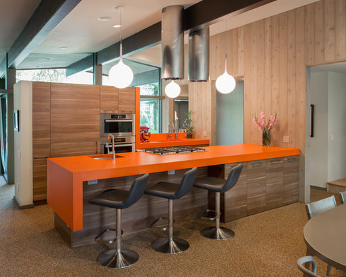 Orange Countertops Ideas Pictures Remodel And Decor