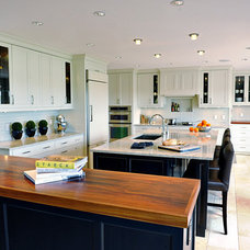 Contemporary Kitchen by Shelter Renovation + Contracting Inc.