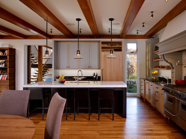 Best Farmhouse Kitchen by Moger Mehrhof Architects