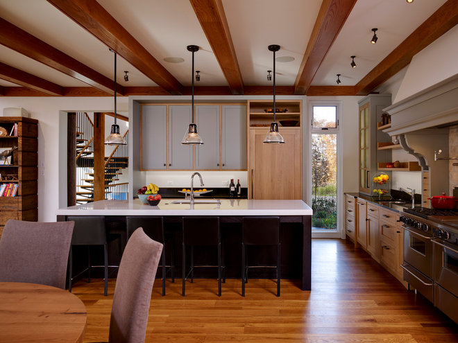 farmhouse kitchen by Moger Mehrhof Architects