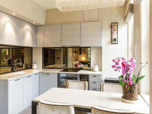 Transitional Kitchen by Keir Townsend Interiors