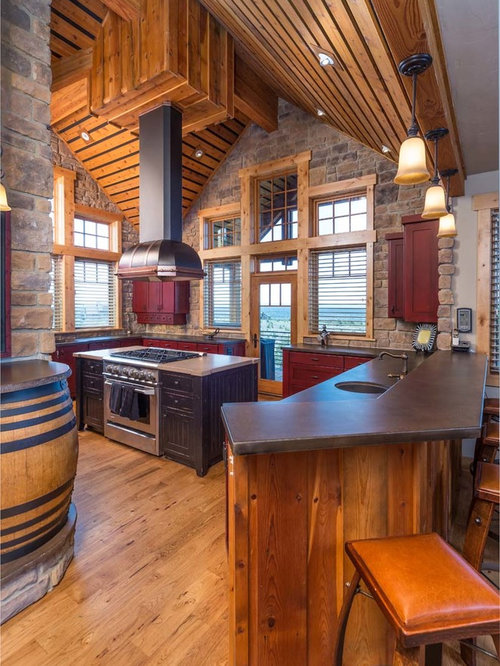 Cathedral Ceiling Kitchen | Houzz
