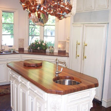 Traditional Kitchen by WR Woodworking