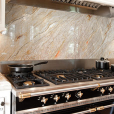 Contemporary Kitchen by Allied Stone