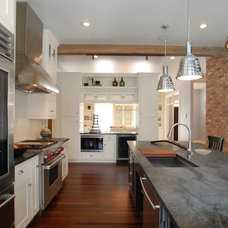 Contemporary Kitchen by Ralph's Hardwood Floors