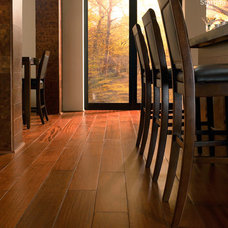 Contemporary Kitchen by BR111 Hardwood Flooring