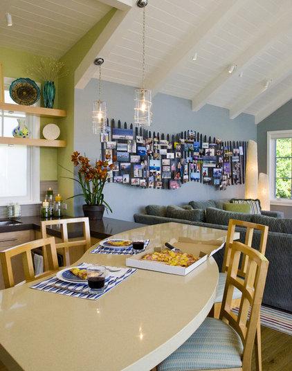 Beach Style Kitchen by Viscusi Elson Interior Design - Gina Viscusi Elson