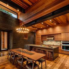 Contemporary Kitchen by sagemodern