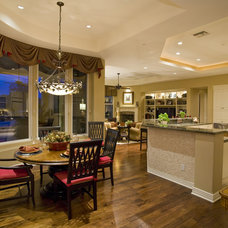 traditional kitchen by Lili Fleming-Nieri, ASID