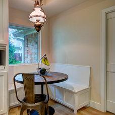 Transitional Kitchen by Realty Restoration, LLC