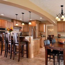 Eclectic Kitchen by New Leaf Home Design