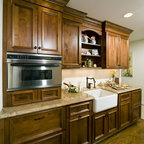 Kitchen Cabinets upgrade to Glide-Outs - Contemporary - Kitchen - Detroit - by Al Williams