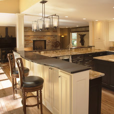 Contemporary Kitchen by Wade Design & Construction Inc
