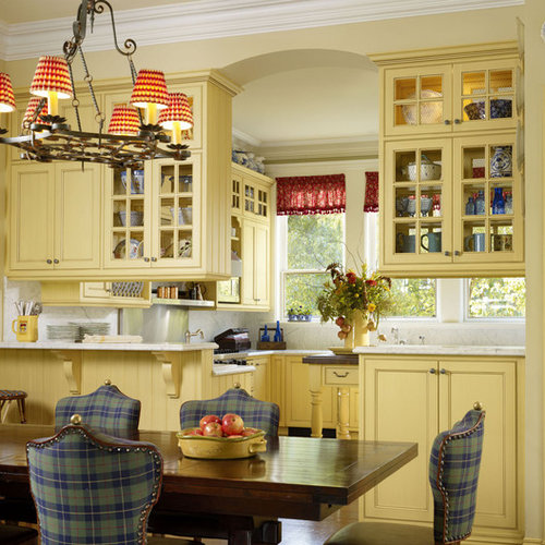 french country blue and yellow decor | houzz