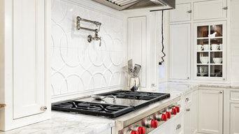 Breaking Beautiful White Kitchen