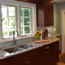 Traditional Kitchen by Patricia L. Caulfield, LLC