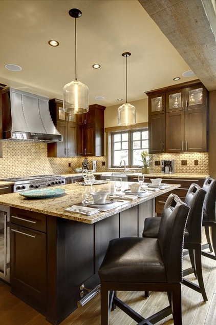 contemporary kitchen by Slifer Designs